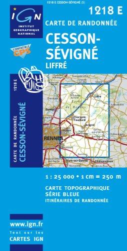 Cesson-Sevigne/Liffre GPS: IGN1218E