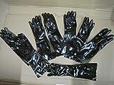 10 paar NVA Gummi-Spezial-Chemie Handschuhe Karneval Faschingsartikel