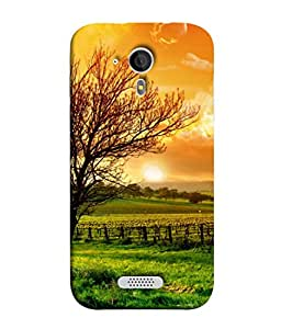 PrintVisa Designer Back Case Cover for Micromax Canvas HD A116 :: Micromax A116 Canvas HD (Gods Gift Is Nature Scenic Design)