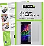 dipos I 2X Schutzfolie matt passend für Razer Phone Folie Bildschirmschutzfolie