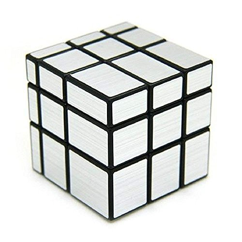 Asian Hobby Crafts Magic Speed Rubik's Cube 3X3X3 : (Silver)