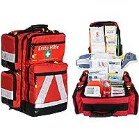 Erste Hilfe Notfallrucksack Sport Freizeit & Event mit 4 Außentaschen preisvergleich bei billige-tabletten.eu