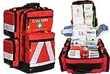 Team Impuls NFA Erste Hilfe Notfallrucksack Sport, Sportvereine, Event & Freizeit - Nylonmaterial mit weißen Reflexstreifen