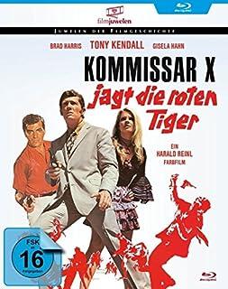 Kommissar X jagt die roten Tiger (Filmjuwelen) [Blu-ray]
