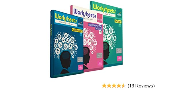 Buy Edurite Combo Worksheets for Class 1 (Mathematics, English and ...