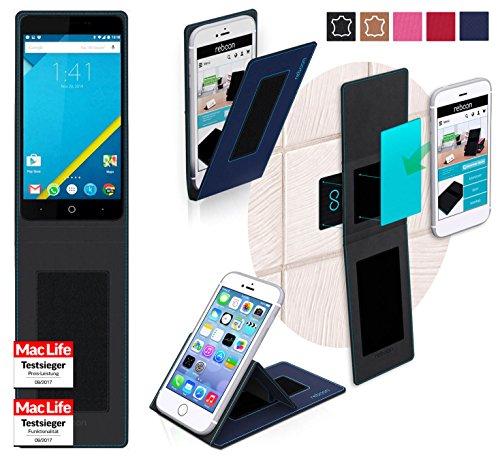 reboon Hülle für Elephone P6000 Pro Tasche Cover Case Bumper | Blau | Testsieger