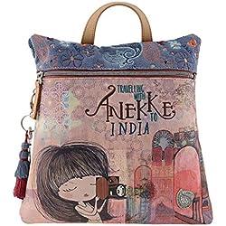 Mochila Anekke 28875-31 India Talla: U Color: AZUL