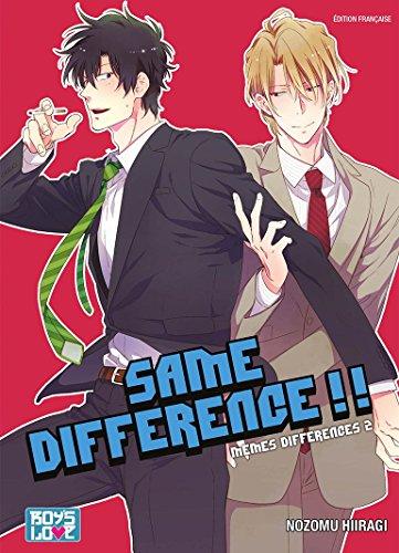 Same Difference - Tome 02 - Livre (Manga) - Yaoi par Nozomu Hiiragi