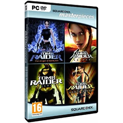 Tomb Raider Quadrilogy: Angel Of Darkness + Underworld + Legend + Anniversary [Bundle] [Importación