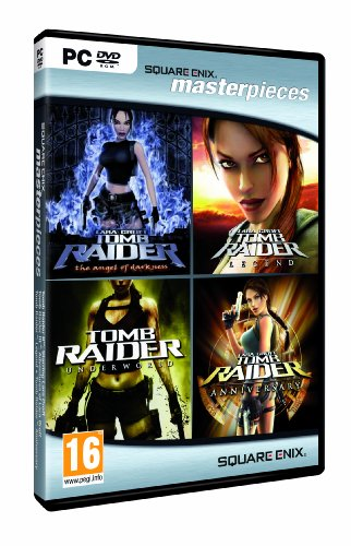 tomb raider quadrilogy: angel of darkness + underworld + legend + anniversary [bundle]