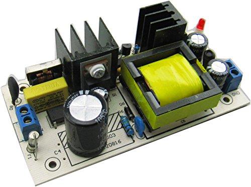 Preisvergleich Produktbild Yeeco AC 85-265V DC 24V 2A 48W Isoliert Industrial Einbau-Schaltnetzteil Buck Voltage Regulator Converter Eingang und Ausgang mit EMI Filterschaltung