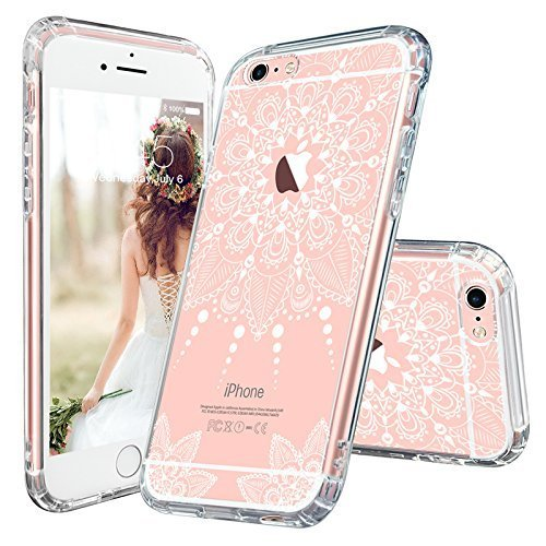 Iphone 6 Plus Case Iphone 6 Plus Clear Case Mosnovo White Henna