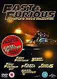 Fast & Furious 1-6 (includes sneak peek of Fast & Furious 7) [DVD] [2015]