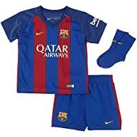 Nike FCB INF HM Kit Conjunto Deportivo, Niños, Azul (Sport Royal/Gym Red/University Gold), 24-36 Meses