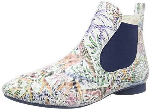 Think! Guad, Bottes Chelsea Femme Multicolore (Bianco/Kombi 97)