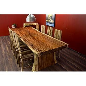 table manger table suar bois massif tronc d 39 arbre. Black Bedroom Furniture Sets. Home Design Ideas