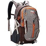 APRIL 14TH Wandern Reise Rucksack - 40L / 50L Trekking Wasserdichter Rucksack mit Regenschutz für Männer Damen Rucksäcke