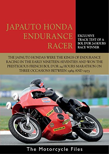 Xv Racer (HONDA JAPAUTO 950SS ENDURANCE RACER: Winner of the Bol d'Or 24 Hours Race (The Motorcycle Files Book 15) (English Edition))