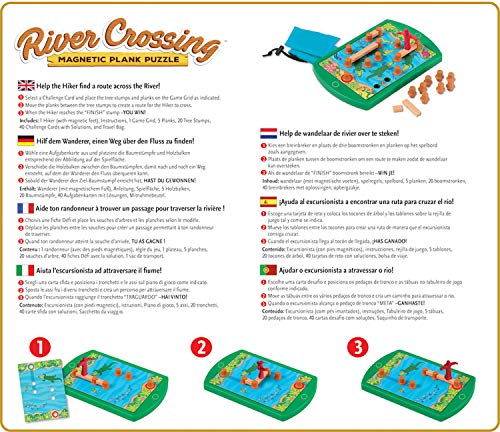 Ravensburger- ThinkFun River Crossing - Juego de lógica
