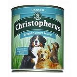 6 x Allco Christopherus Pansen pur 800g, Hundefutter, Nassfutter