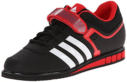 Adidas Powerlift 2.0 Weightlifting Scarpe Black/White/Red