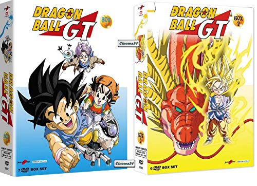 DRAGON BALL GT - Serie Completa - Vol. 1+2 (13 DVD)