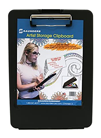 Saunders Black Artist Storage Clipboard (00932)