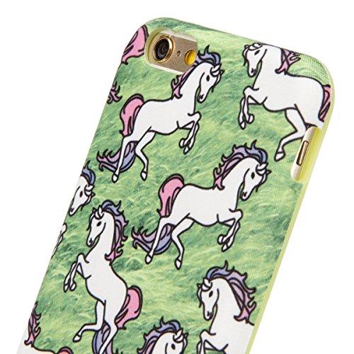 iPhone 6S Plus Hülle, iPhone 6 Plus Hülle, iPhone 6 Plus/ 6S Plus Silikon hülle Tasche mit Schimmel Malerei Muster, SainCat Protective Silikon Hülle Case Tasche Handyhülle [Kratzfeste, Scratch-Resista Schimmel
