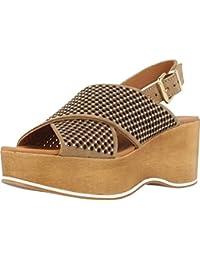 Sandalias y chanclas para mujer, color marr�n , marca ALPE, modelo Sandalias Y Chanclas Para Mujer ALPE 1347M Marr�n