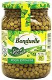 Bonduelle Piselli, Cuore di Raccolto, Extra Fini, 375 G Quantità Sgocciolata - 530 gr