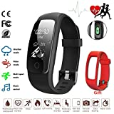 Fitness Tracker Ativafit Herzfrequenzmesser Schlafmonitor Wettermodus Multi-Sport-Modus Aktivitäts-Tracker Kalorienzähler Smart Watch für iPhones und Android Phones