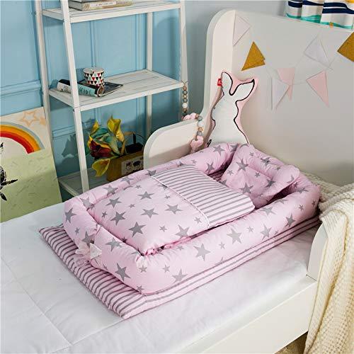 YANGGUANGBAOBEI Coussins Cuddle Baby Pod-Soft Sleeping Bed Sac De Couchage Pliant pour Bébé Coussin Moelleux pour Bébé,O