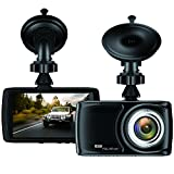 "Dash Cam 3.5"" Car camera - BUIEJDOG Car Camcorder 1080P LCD Display Recorder with 170 Degree Viewing Angles Built-in G-Sensor Night Vision Recording Loop Recording and Parking Monitoring"