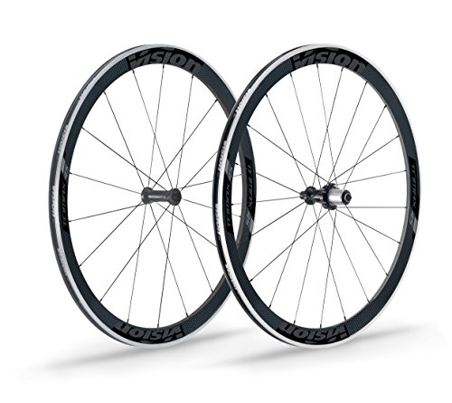 Vision Unisex 710-0043191030Massagegerät Trimax Carbon 45Road Laufradsatz, schwarz, one Size -