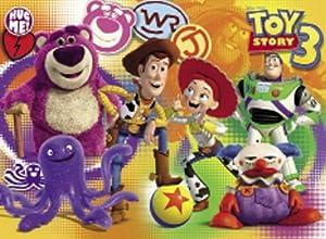 Clementoni Puzzle Magic 3D 20031.3 Toy Story 3 - Puzzle (104 piezas, 33,5 x 23,5 cm, incluye gafas 3D) importado de Alemania