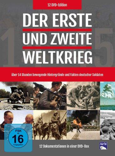 Der Erste und Zweite Weltkrieg [12 DVDs]