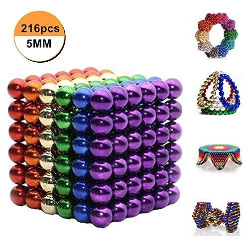 Luckyrao Imán de Educación de la Ciencia (Color 5MM)