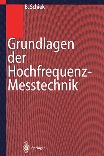 Grundlagen der Hochfrequenz-Messtechnik