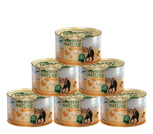 Dehner Best Nature Katzenfutter Adult, Orient, Truthahn und Wachtel, 6 x 200 g (1.2 kg)