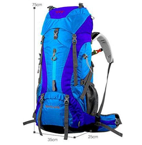 Wandern Outdoor Reisen Lässige Daypack Hochleistungs-Taschen Rucksack Rucksack,ArmyGreen Blue