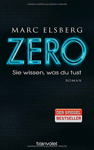 Buchseite und Rezensionen zu 'ZERO' von Marc Elsberg