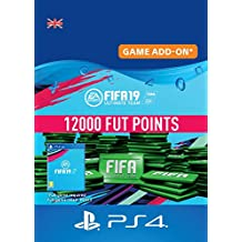 FIFA 19 Ultimate Team - 12000 FIFA Points | PS4 Download Code - UK Account