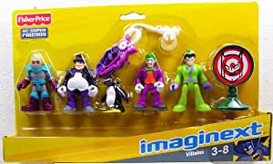 Fisher Price - Imaginext - DC Super Friends - Villains Set - 64232