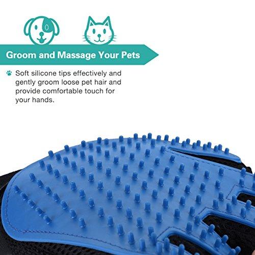 Zoom IMG-1 omorc guanto spazzola cani gatti