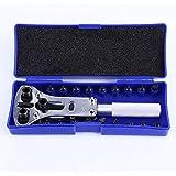 Uhrenöffner Gehäusebodenöffner Gehäuseöffner Uhrenwerkzeug Uhrmacher Werkzeug Reparatur 18 Pins