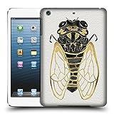 Offizielle Cat Coquillette Zikade Gold Schwarz Insekten Ruckseite Hülle für Apple iPad mini 1 / 2 / 3