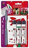 Marabu 180500083 - Candle Liner Set Xmas Time, mehrfarbig