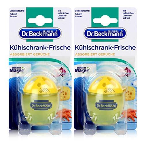 Dr. Beckmann 2X Dr.Beckmann Kühlschrank Frische Ei Limonen-Extrakt 40g, 2 x 40Gr
