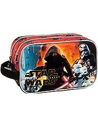 Disney Star Wars Battle Neceser de Viaje, 4.99 Litros, Color Negro