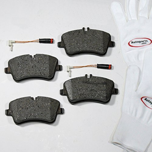 Preisvergleich Produktbild Autoparts-Online Set 60006682 Bremsbeläge / Bremsklötze / Bremsen + Warnsensoren für Vorne / für die Vorderachse